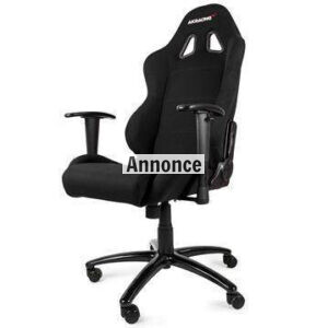 AKRacing Gaming Chair – Black/Black