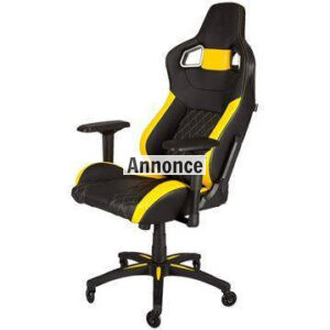 Corsair T1 Race Gaming Chair – Yellow