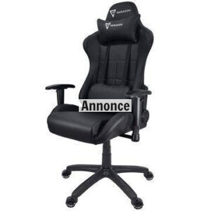 Paracon Rogue Gamer Stol – Sort
