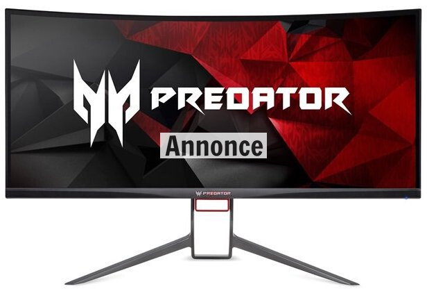 "Acer 34"" Predator Curved LED G-Sync X34P"