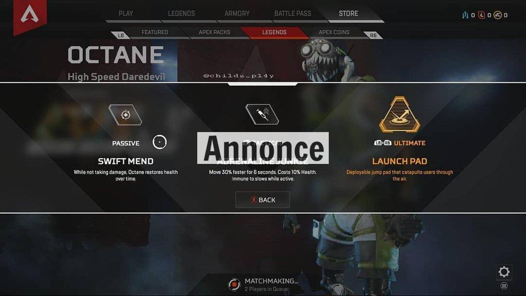 Hvad ved vi om den nye Apex Legends-karakter Octane?